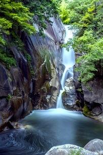 仙娥滝 日本 山梨県 甲府市の写真素材 [FYI03417701]