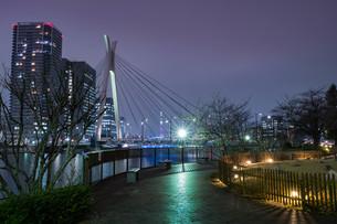 大川端リバーシティ21からの眺め 日本 東京都 中央区の写真素材 [FYI03417723]
