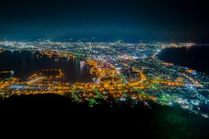 函館の夜景の写真素材 [FYI03417766]