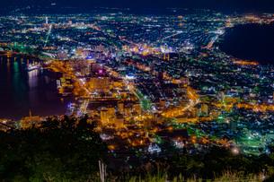 函館の夜景の写真素材 [FYI03417767]