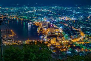 函館の夜景の写真素材 [FYI03417768]