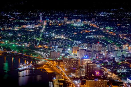 函館の夜景の写真素材 [FYI03417769]