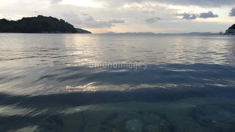 坂越(さこし)の海in兵庫県赤穂市の写真素材 [FYI03418115]