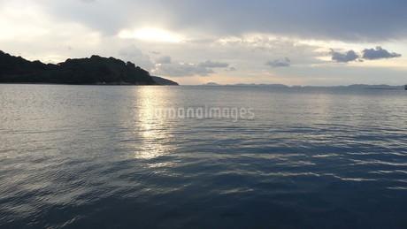 坂越(さこし)の海in兵庫県赤穂市の写真素材 [FYI03418118]