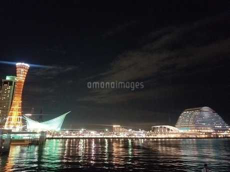 神戸港の写真素材 [FYI03418170]
