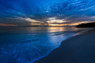 朝の海辺の写真素材 [FYI03418395]