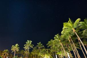 南国の夜空の写真素材 [FYI03418413]