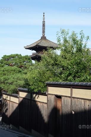 八坂の塔こと法観寺五重塔の写真素材 [FYI03418455]