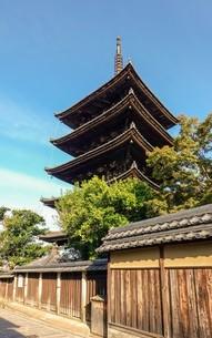 八坂の塔こと法観寺五重塔の写真素材 [FYI03418456]