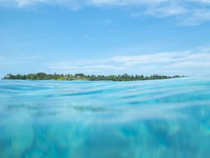 海上からの風景の写真素材 [FYI03418496]