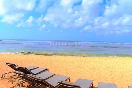リゾート地の浜辺の写真素材 [FYI03418670]