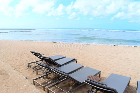 リゾート地の浜辺の写真素材 [FYI03418671]