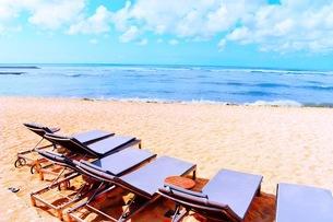 リゾート地の浜辺の写真素材 [FYI03418672]