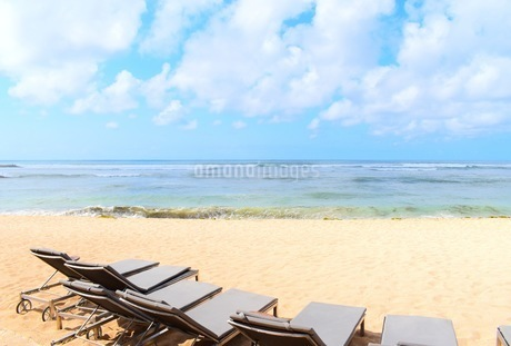リゾート地の浜辺の写真素材 [FYI03418673]