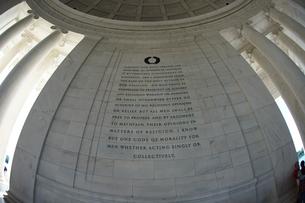 トーマス・ジェファーソン記念館の写真素材 [FYI03418833]