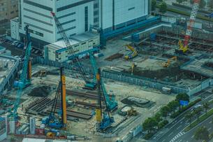 工事現場・建設現場のイメージの写真素材 [FYI03418849]