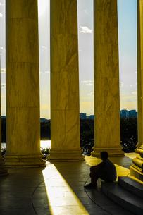 トーマス・ジェファーソン記念館の写真素材 [FYI03418867]