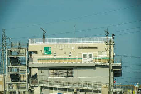 津波避難タワー(宮城県仙台市)の写真素材 [FYI03419000]