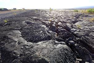 ハワイ島の溶岩の写真素材 [FYI03419046]