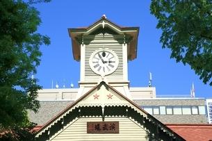 札幌時計台の写真素材 [FYI03419330]