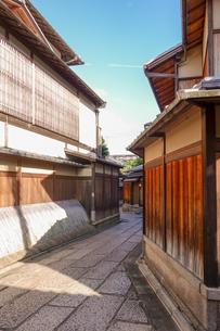 京都らしい町並み 石塀小路の写真素材 [FYI03419552]