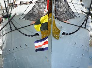 帆船の船首の写真素材 [FYI03419668]