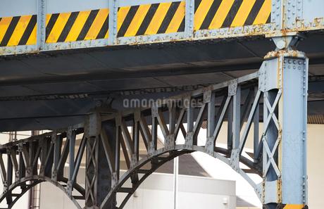 鉄道橋の橋脚の写真素材 [FYI03419758]