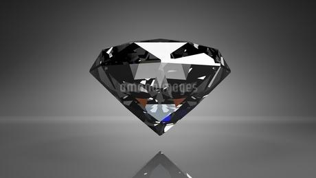 Diamond on black backgroundのイラスト素材 [FYI03420089]