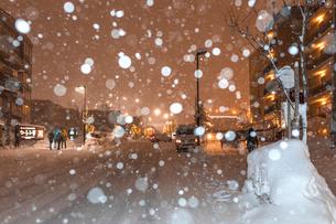 冬のニセコの写真素材 [FYI03420160]