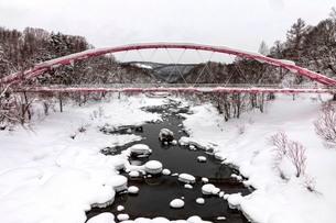 冬の比羅夫の写真素材 [FYI03420162]