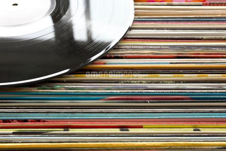 レコード レトロ アナログの写真素材 [FYI03420240]