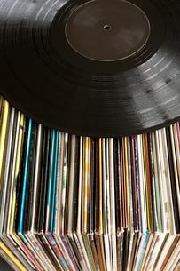 レコード レトロ アナログの写真素材 [FYI03420405]