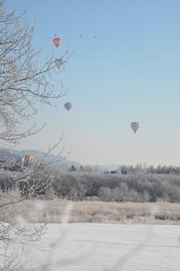 気球の写真素材 [FYI03420566]