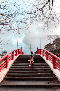red bridgeの写真素材 [FYI03420629]