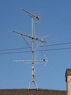 テレビアンテナの写真素材 [FYI03420732]