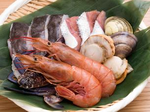 海鮮鍋の具材の写真素材 [FYI03420797]