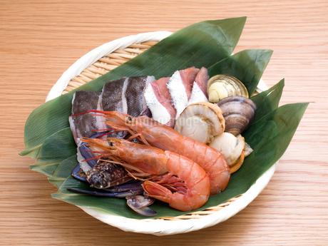 海鮮鍋の具材の写真素材 [FYI03420798]