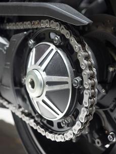 オートバイのチェーンの写真素材 [FYI03420848]