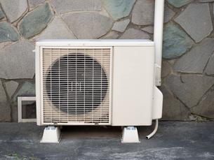 エアコンの室外機の写真素材 [FYI03420876]