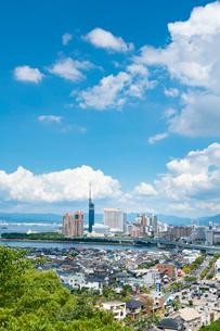 福岡市街4の写真素材 [FYI03421154]