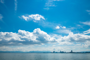 福岡市街2の写真素材 [FYI03421161]