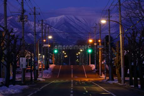 冬の明け方の写真素材 [FYI03421741]