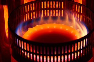 石油ストーブの燃焼筒の写真素材 [FYI03422350]