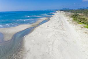 日本三大砂丘 吹上浜の写真素材 [FYI03422545]