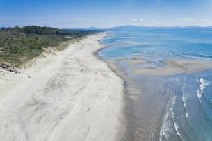 日本三大砂丘 吹上浜の写真素材 [FYI03422546]