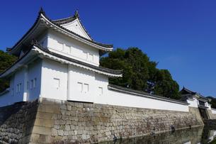 京都 二条城(離宮二条城)の東南隅櫓の写真素材 [FYI03422804]