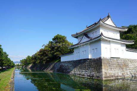 京都 二条城(離宮二条城)の東南隅櫓の写真素材 [FYI03422805]