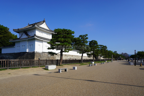 京都 二条城(離宮二条城)の東南隅櫓の写真素材 [FYI03422811]
