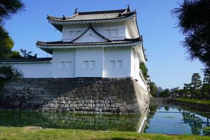 京都 二条城(離宮二条城)の東南隅櫓の写真素材 [FYI03422814]