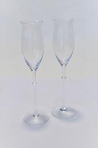 ペアのワイングラスの写真素材 [FYI03422962]